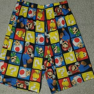 Super Mario Bros pj bottoms